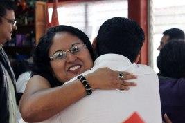 abrazos para dar las gracias