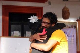 el abrazo de Gabi