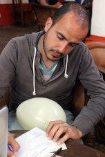 regalando en un globo deseos