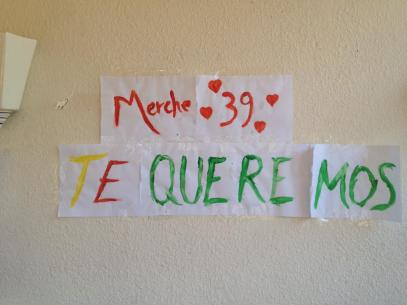 Te queremos Merche