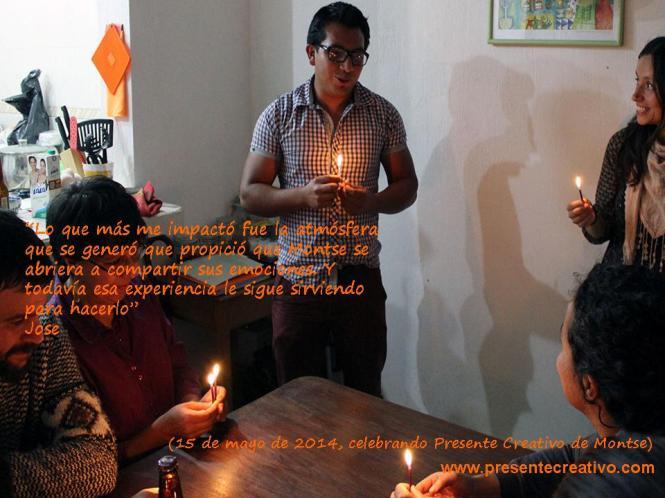Testimonio de Jose del Presente Creativo de Montse