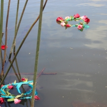 las coronas en la laguna