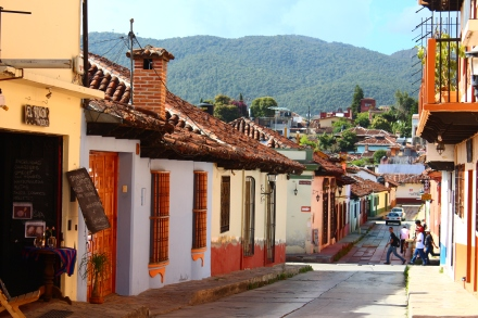 un día hermoso en San Cristóbal