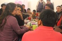 Cenando entre amig@s